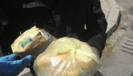 90 homeless, poor people in Burgas received packets of food and hot lunch from Caritas