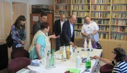 Minister of Labor and Social Policy visited shelter for homeless people at Caritas Ruse