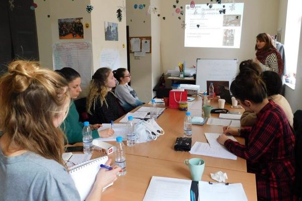 """Caritas held practical classes with students from Sofia University """"St. Kliment Ohridski"""""""