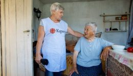 Caritas supported 362 elderly people in 13 settlements in Bulgaria