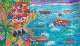 """Изложба на младите художници от център """"Благовещение"""""""