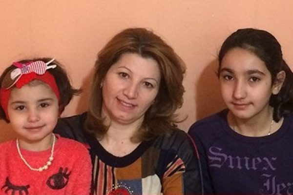 مسكن جديد للعائلات من سوريا