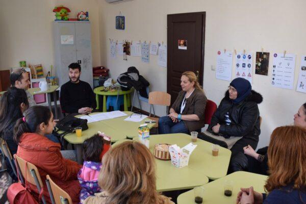 تدريب اللاجئين في مجال الشؤون المالية