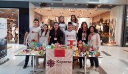 """274 лв. в подкрепа на деца в риск бяха набрани по време на благотворителна акция на """"Каритас Русе"""""""