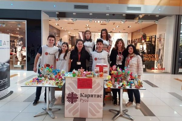 Fundraising of BGN 274 in support of children at risk during Caritas Ruse charity campaign