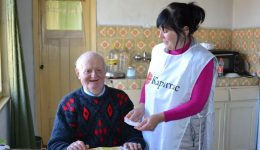 Caritas supported 367 elderly people in 14 towns and villages in Bulgaria