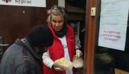 """Caritas"" and its partners provide food for more than 50 homeless people"