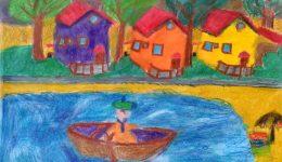 Цветната душа на художника
