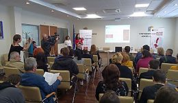 Caritas held a discussion on migration at Rouse University