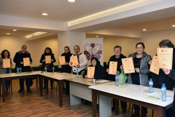 Caritas School: a basic training in the town of Rakovski
