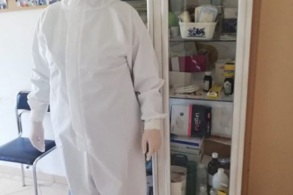 Caritas received donation of high quality protective equipment