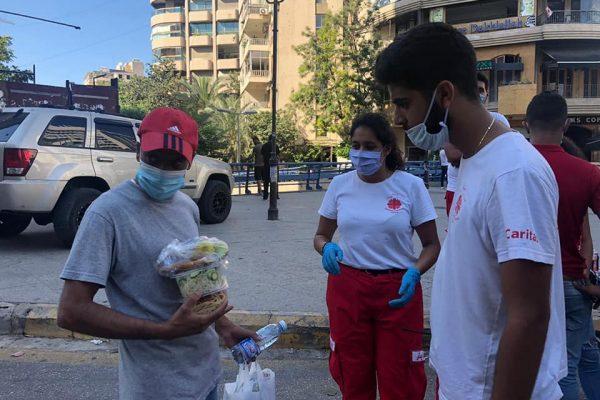 """""""Каритас"""" подкрепя пострадалите при експлозията в Бейрут"""