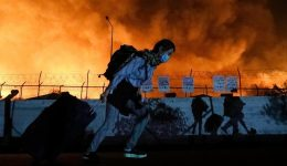 """Кризата в лагера """"Мория"""": """"Каритас"""" призовава за хуманно отношение към мигрантите и преместването им в страни от ЕС"""