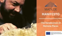 MATILDE Manifesto calls to redefine EU's mountainous and rural areas
