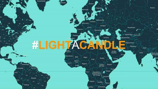 Виртуална свещ за солидарност