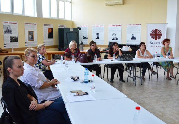 """Сътрудници на """"Каритас Русе"""" взеха участие в базово обучение на """"Училище на """"Каритас"""""""